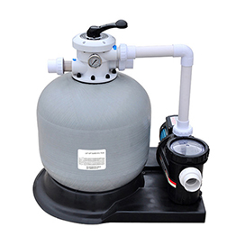 Sand filter and pump combination
